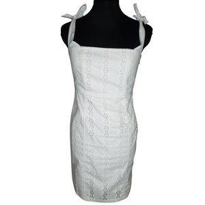 BARDOT // White Mini Dress